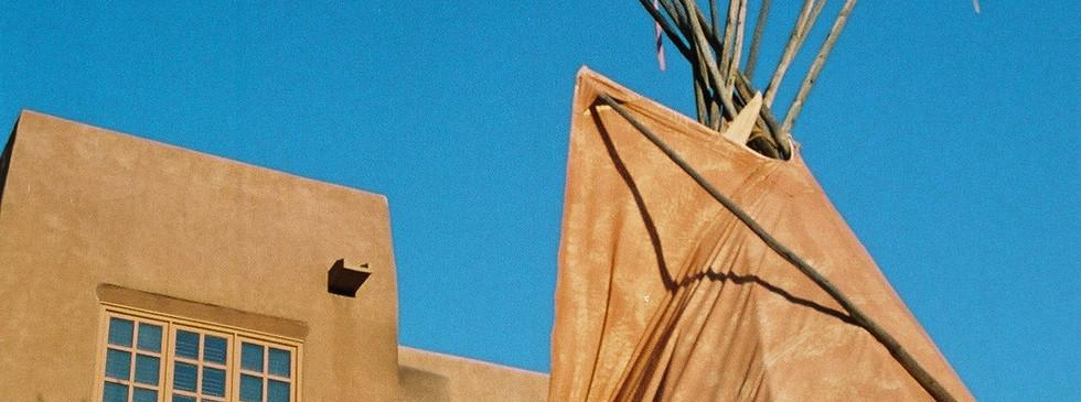 Santa Fe tepee hotel
