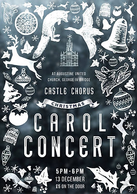 A 2015 Christmas Concert poster
