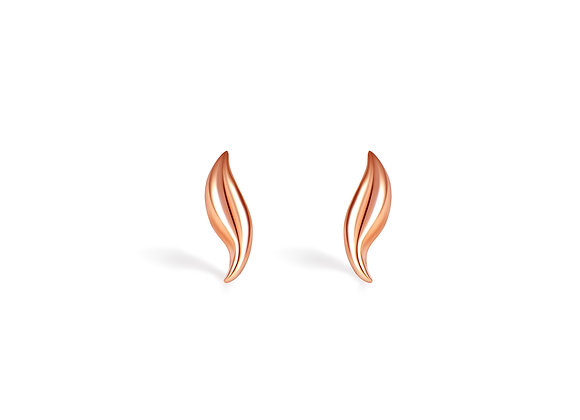 Dolphin Studs | Rosegold