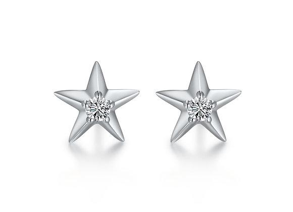 Star Studs | Silver