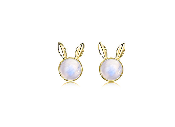 Dream Bunny Studs | Gold