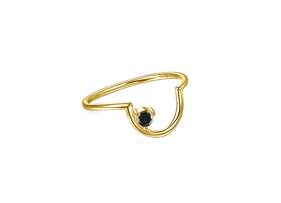 Cloud Nine Ring (Gold)