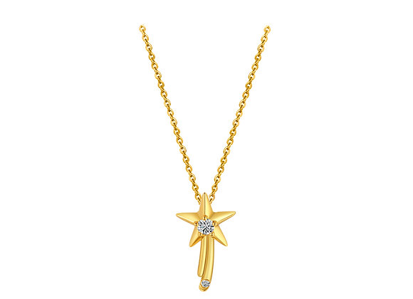 Wishing Star Necklace | Gold