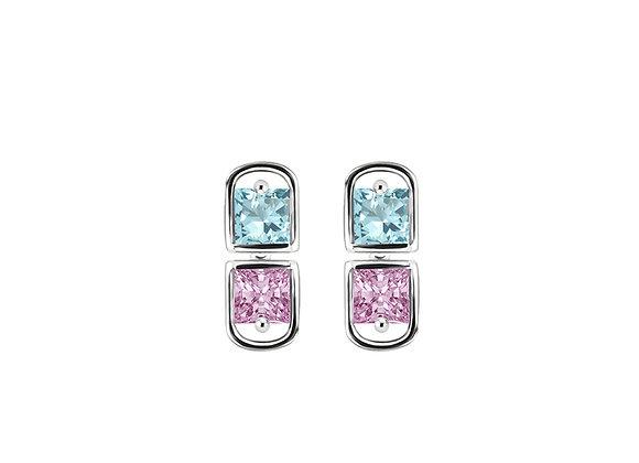 Sprinkles Studs | Silver