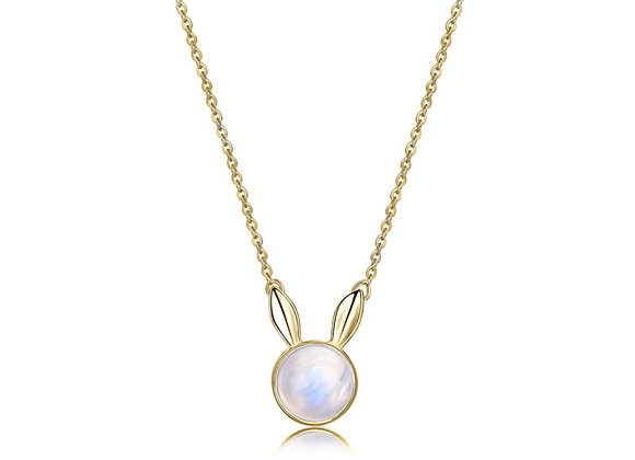 Dream Bunny Necklace | Gold