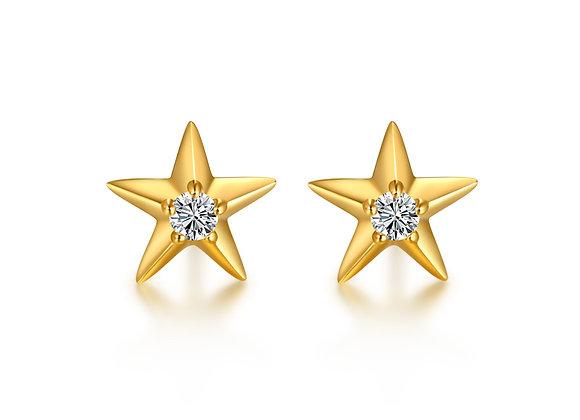 Star Studs | Gold