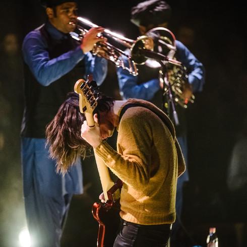 Junun (Jonny Greenwood) live in Berlin 2016 (c) Markus Werner