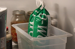 2. Thaw in refrigerator.