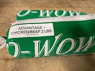 advantage chicken beef