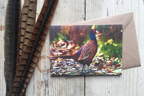 'Autumn Bliss' A6 Greeting Card