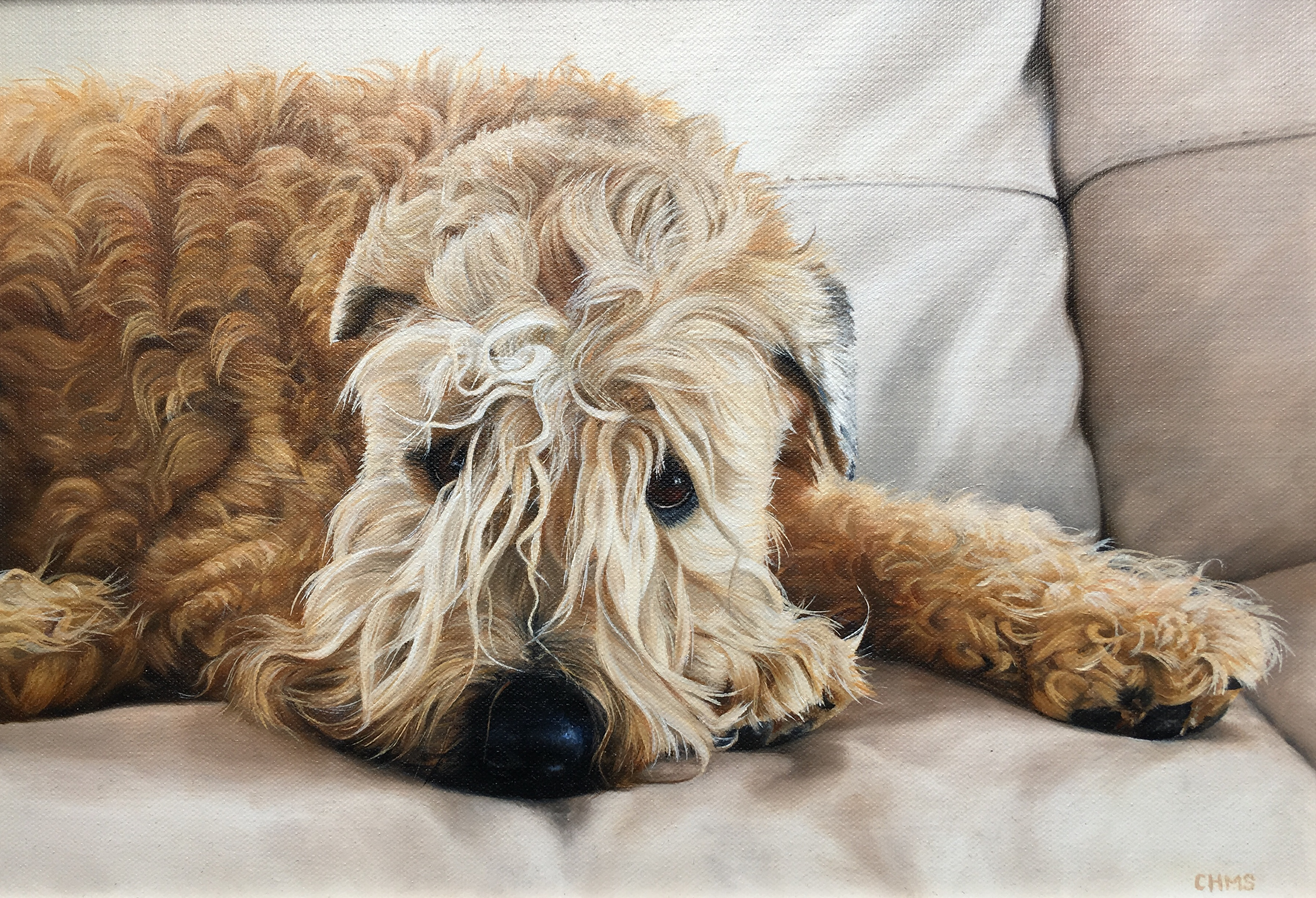 Original Oil Painting 'Bentley'