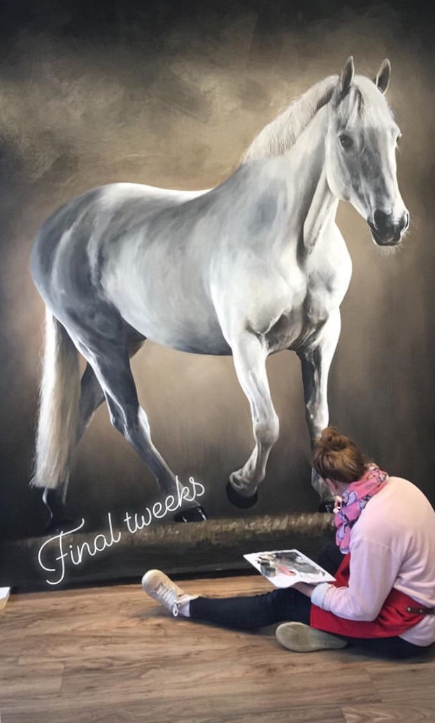 'Alvo' Life sized Oil painting Commission