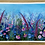 Thumbnail: Wild Pink Meadow | Large Print | Slight Miss Print on right edge