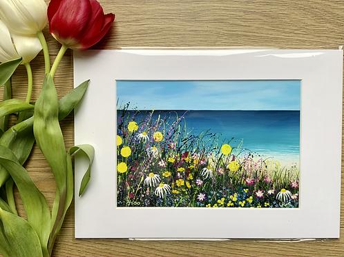 Beach Meadow | A5 Print