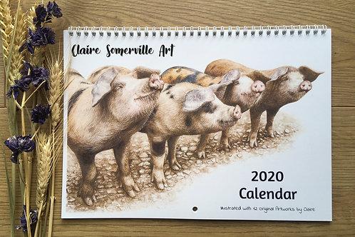 2020 A3 Wall Calendar