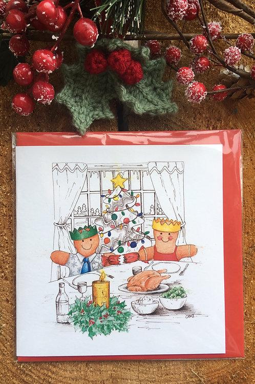 Christmas Card 'Christmas Dinner'