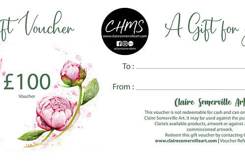 Gift Voucher £100