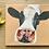 Thumbnail: Cow Gicleé Canvas Print 'Nosey Moo'