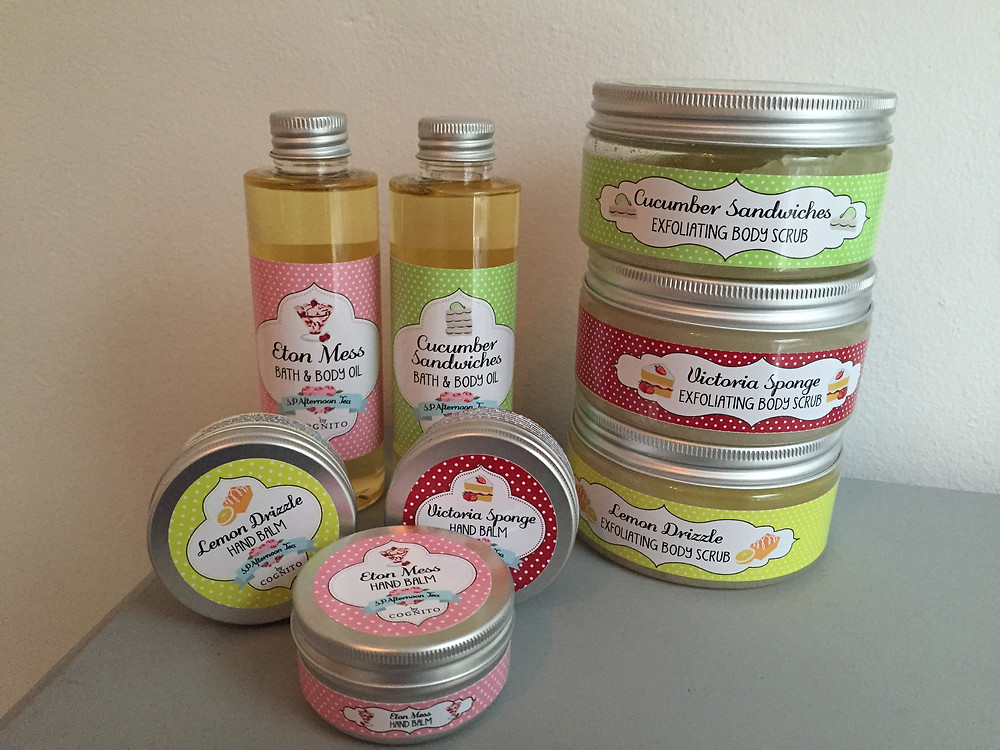 Half price afternoon tea body scrubs