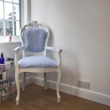 Shore Beauty's pedicure chair