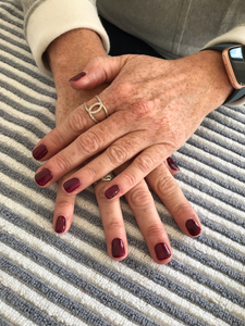 this is gel polish on natural nails