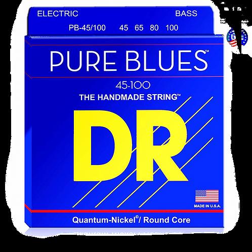 DR STRINGS PURE BLUES 45-100 PB-45-100
