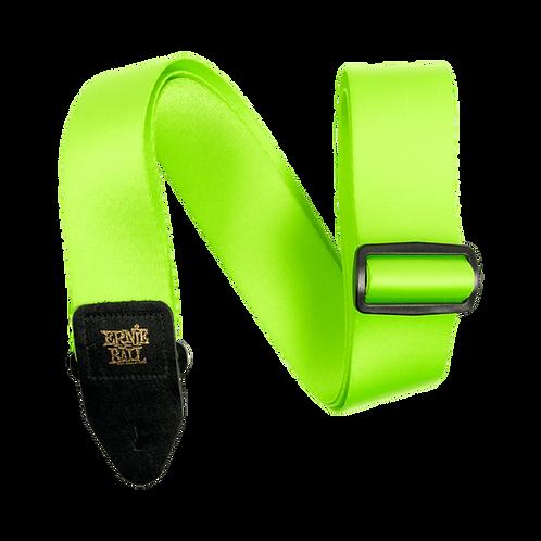 ERNIE BALL NEON GREEN STRAP