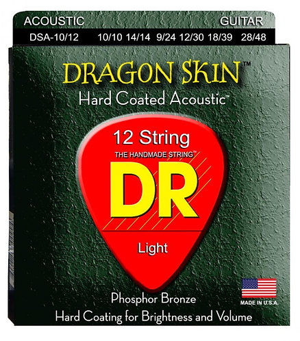 DR STRINGS DRAGON SKIN DSA-10-12
