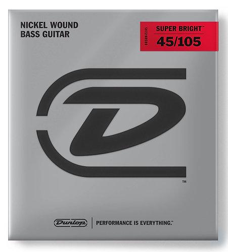 DUNLOP SUPER BRIGHT BASS NICKEL - DBSBN45015