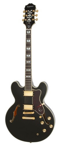 EPIPHONE SHERATON II PRO SEMI-HOLLOW ELECTRIC GUITAR EBONY