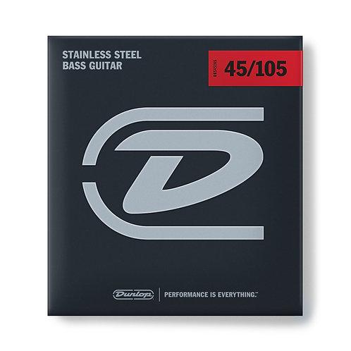 DUNLOP BASS STAINLESS STEEL 45-105 - DBS45105