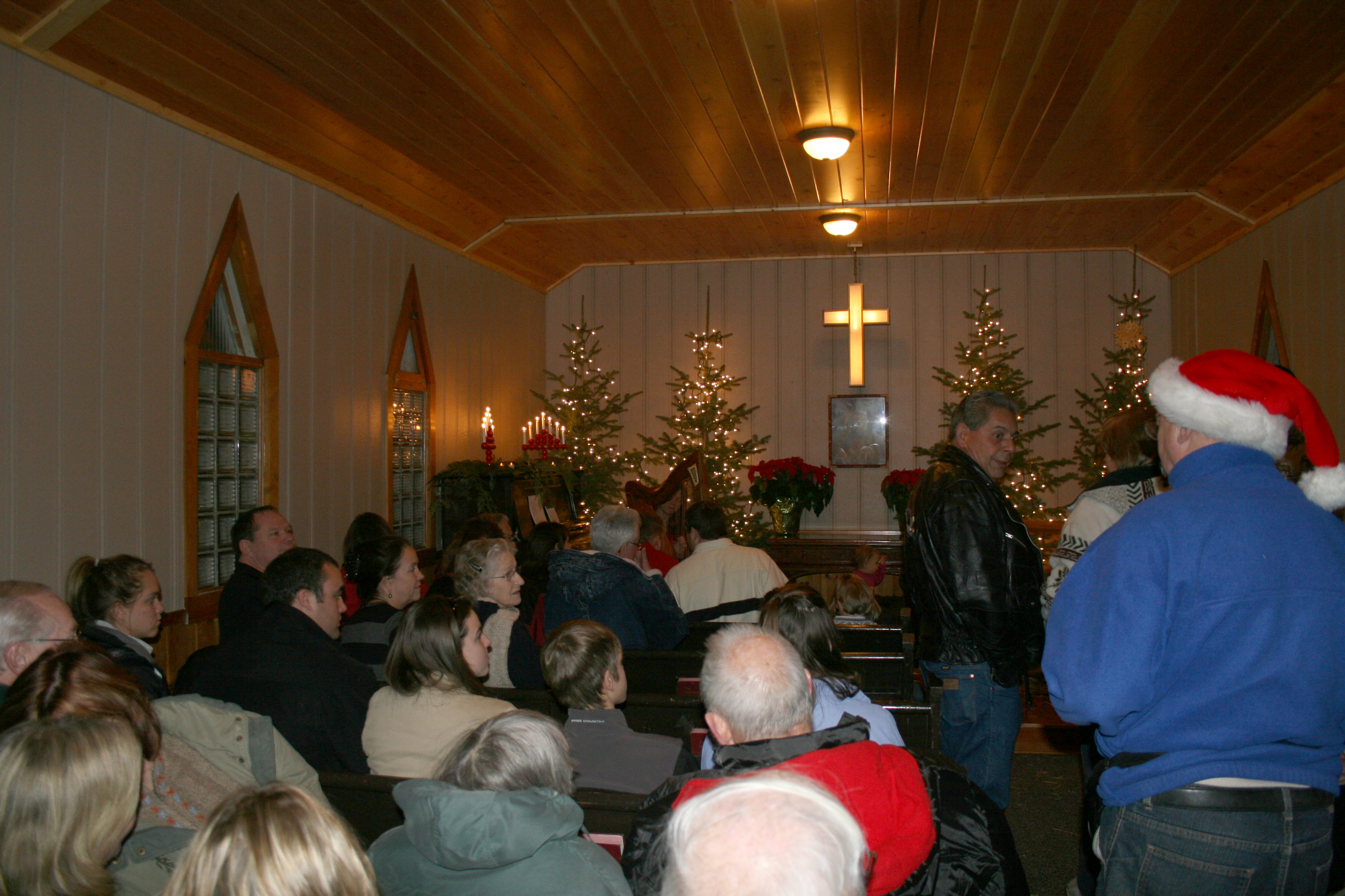 Inside Church at Christmas Eve Service.jpg