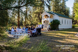 Tyana Woods Photography Church Wedding w