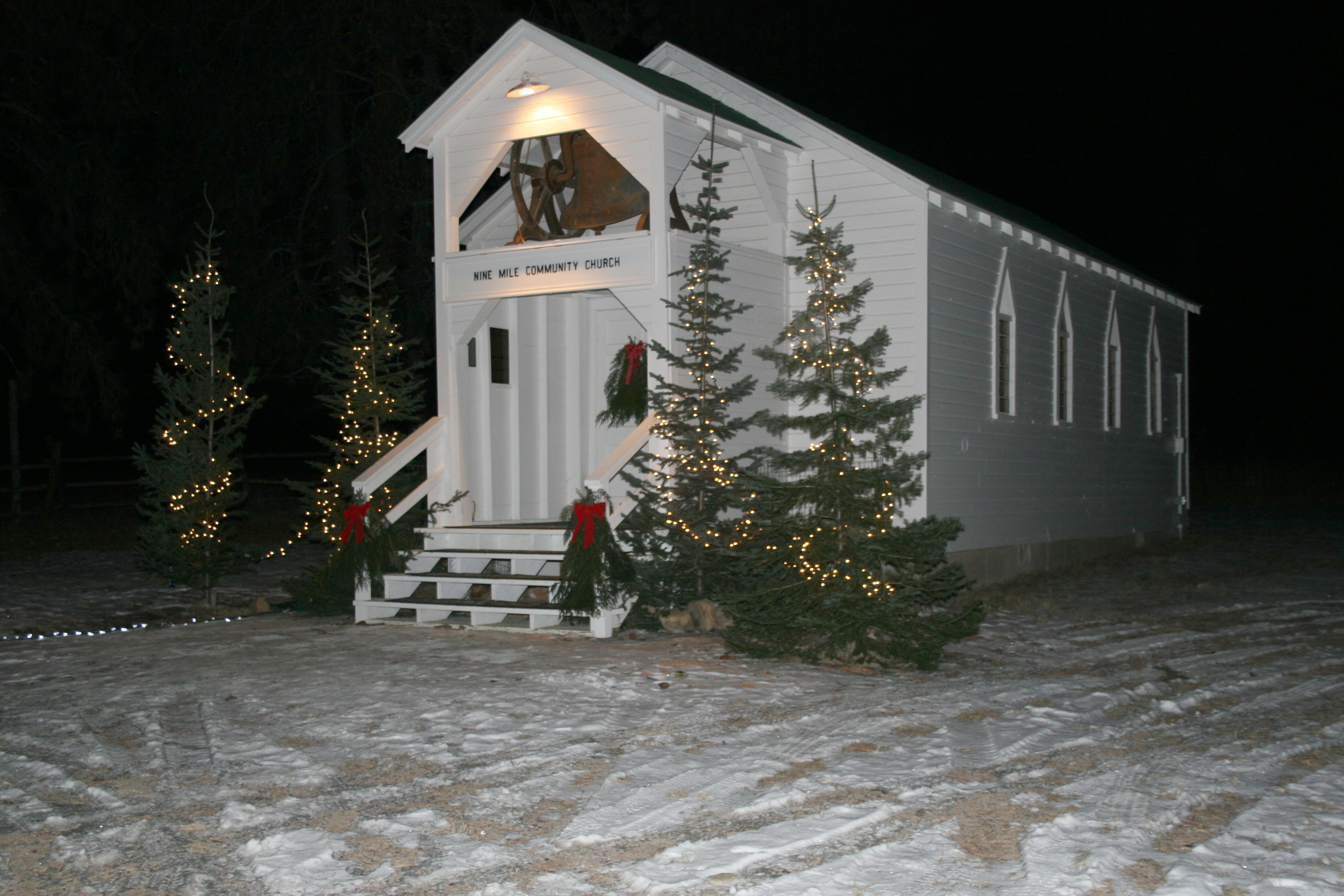 Outside Church at Christmas Eve.jpg