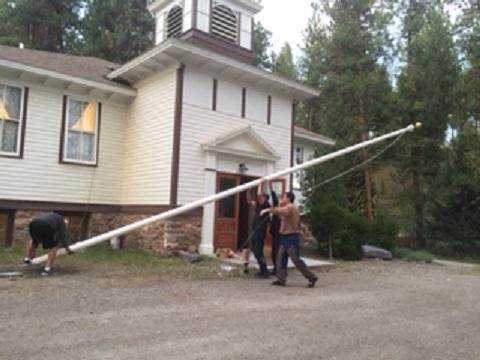 3_Flag Pole Raising
