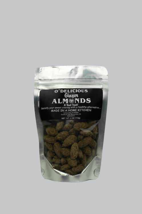 Ginger Almonds by O'Delicious