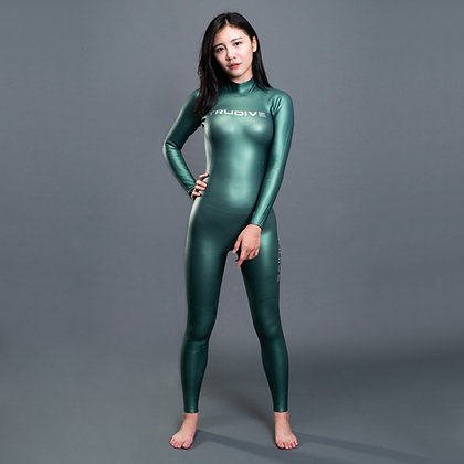 [ Pre-order] Trudive Women's Back Zip Smooth Skin 2mm Wetsuit