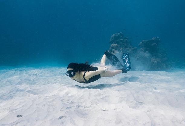 Freediver Melissa