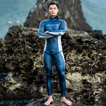 [ Pre-order] Trudive Men's HYDRA Smooth Skin Two-Piece 2mm Wetsuit