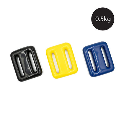 0.5kg Freediving Weight with Rubber Coating