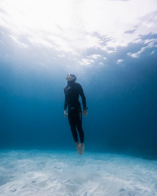Freediver Thomas