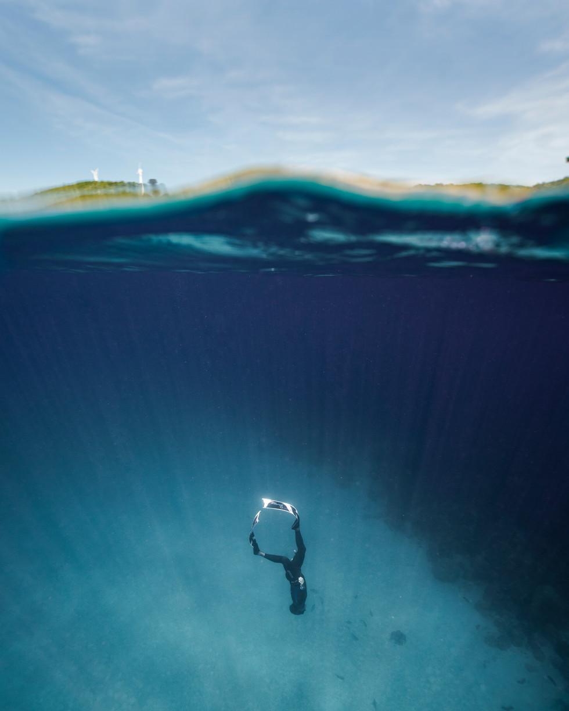 Freediver Johan