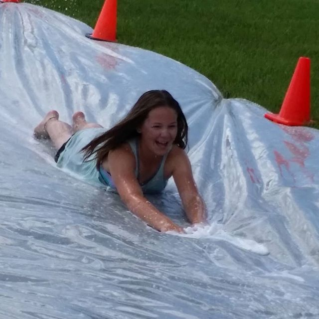 #Slip & Slide 2016_#knowingmathfacts=fun!