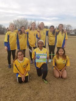 2018 Girls Champions