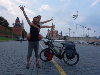 Moscou... Et depart pour la Siberie!