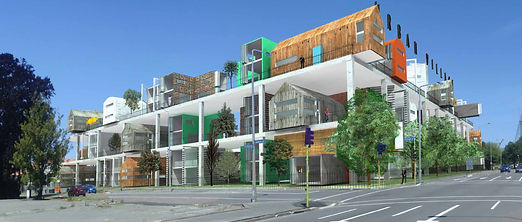 breathe urban village - Christchurch redevelopment concept