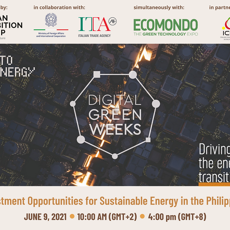Investment Opportunities for Sustainable Energy in the Philippines