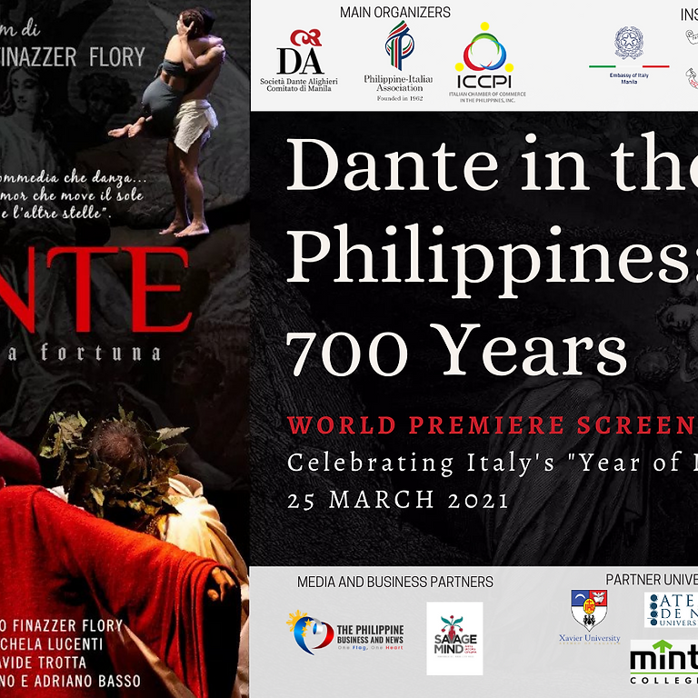 Dante in the Philippines: 700 Years
