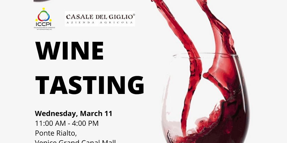 Wine Tasting with Casale del Giglio