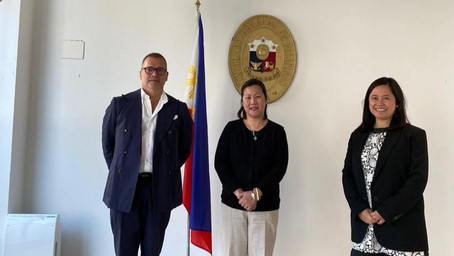 ICCPI President Pays Courtesy Call to the New Consul General in Milan